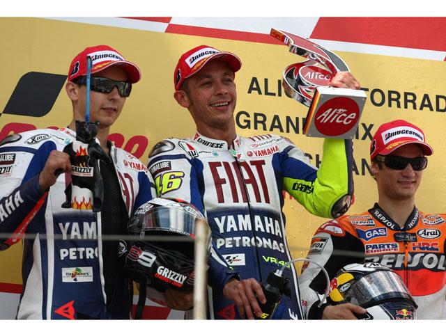 """Valentino Rossi: """"Ha sido una victoria muy importante"""""""