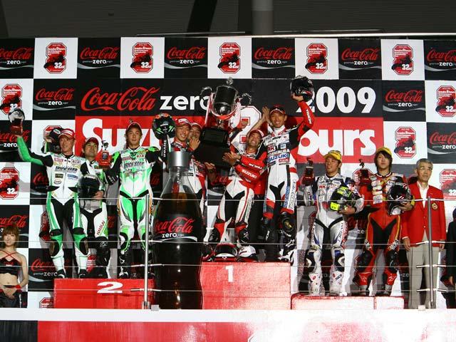 Yoshimura Suzuki logra la victoria final en las 8 Horas de Suzuka