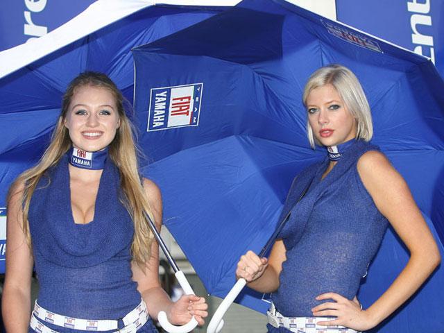 Las chicas del GP de Gran Bretaña