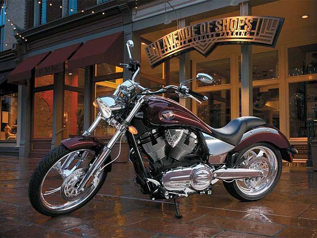 Las motos Victory de Polaris llegan en octubre