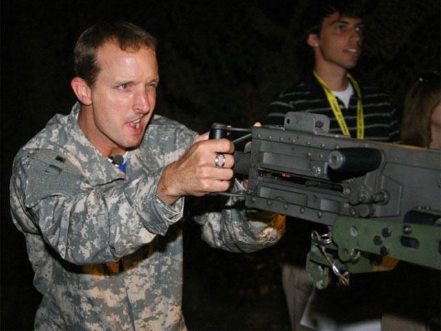 Colin Edwards, militar por un día