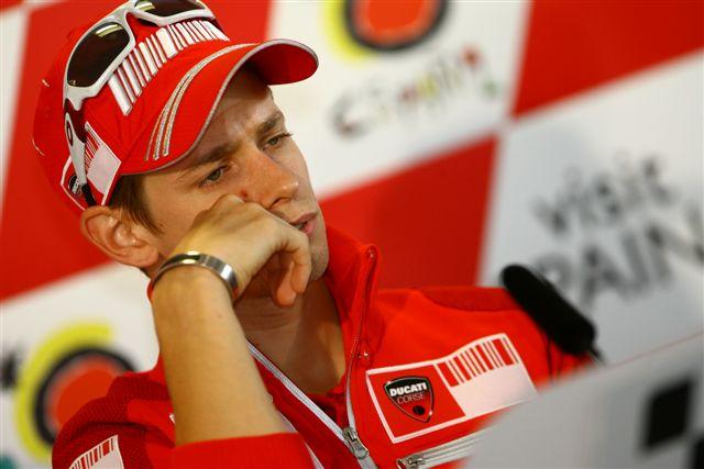 MotoGP y Ducati confirman que Stoner se perderá Brno, Indianápolis y Misano