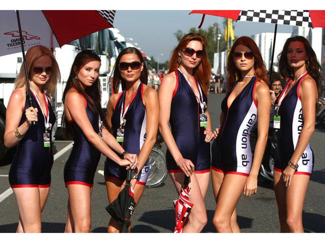 Las chicas del GP de Brno