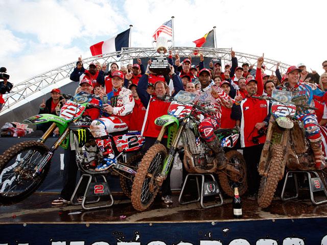 Los americanos del Motocross de las Naciones
