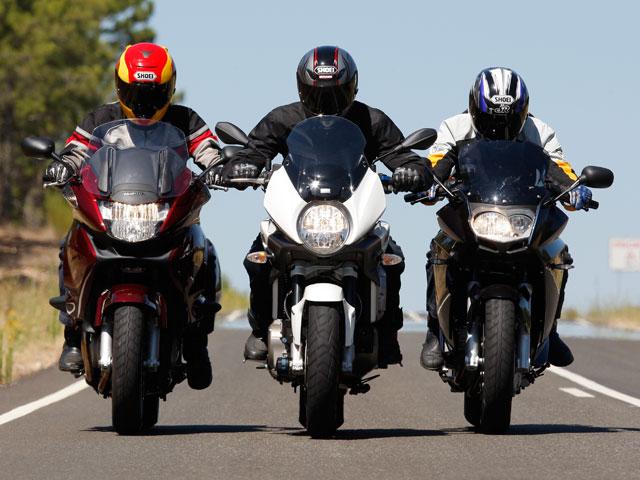 Aprilia, BMW y Honda: Compañeras de viaje