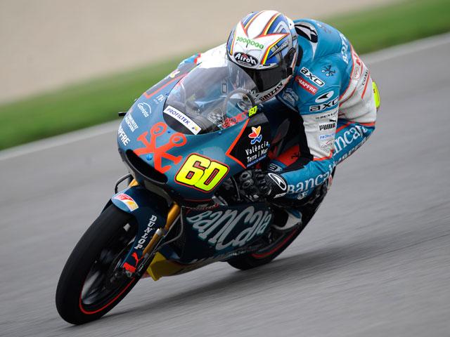 Julián Simón (Aprilia) logra la pole del GP de Indianápolis