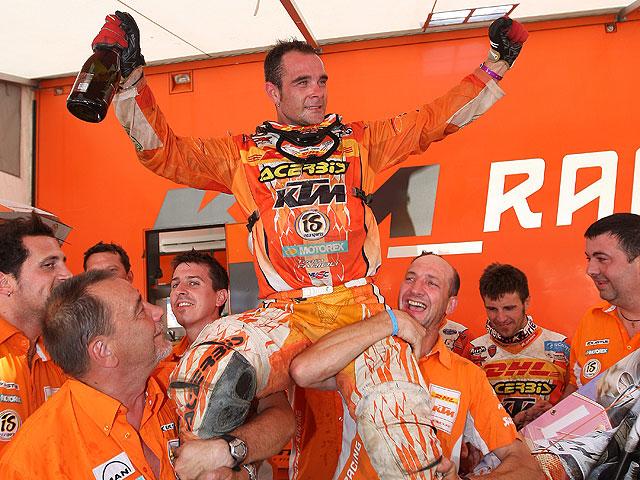 Aubert, bicampeón de E2