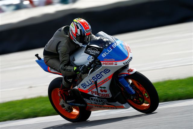 Schwantz probó la Moto2 de BQR en Indianápolis