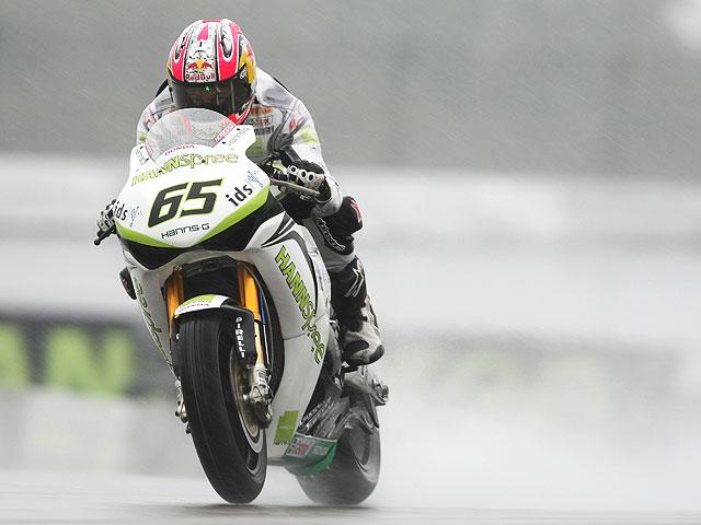 Jonathan Rea es el más rápido bajo la lluvia de Nürburgring
