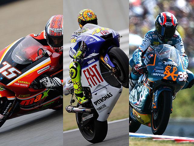 Rossi, Pasini y Smith dominan los libres de Misano