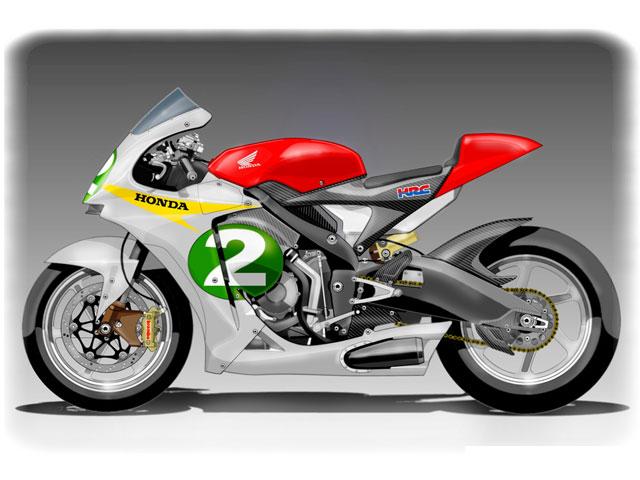 La Moto2 de HRC. Si Honda quisiera...