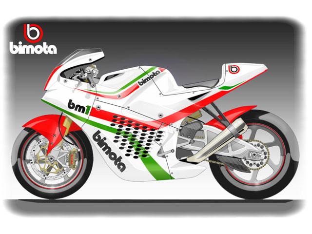 Bimota BM1. Moto2 a la italiana