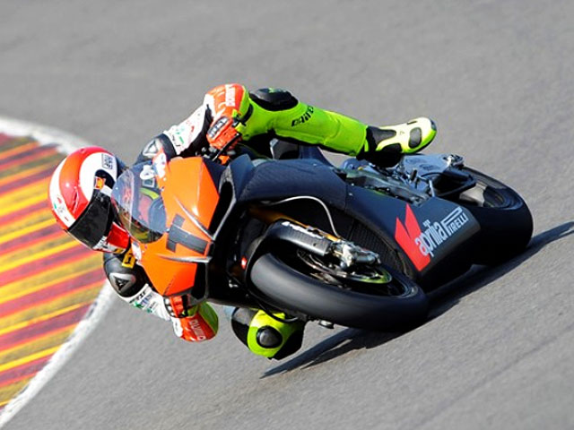 Simoncelli correrá con Aprilia en el Mundial de Superbike