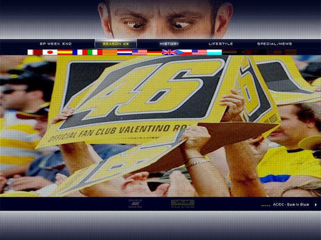 Valentino Rossi ya tiene web