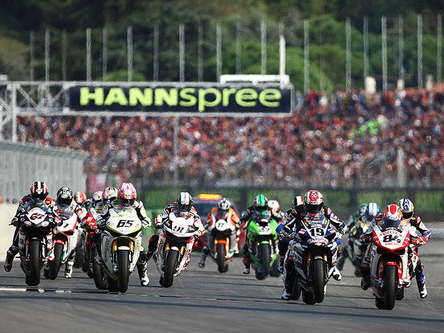 Horarios de las carreras y retransmisiones del Mundial de SBK en Magny-Cours