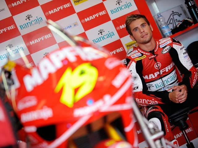 Alvaro Bautista pierde opciones al título tras una caída en el GP de Portugal