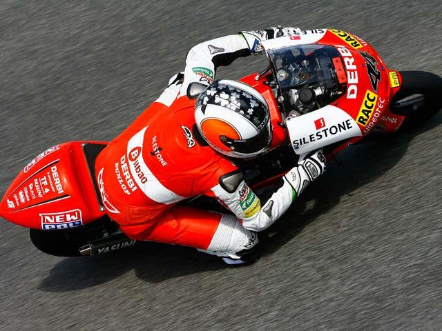 Pol Espargaró vence el GP de Portugal. Simón sufre una caída
