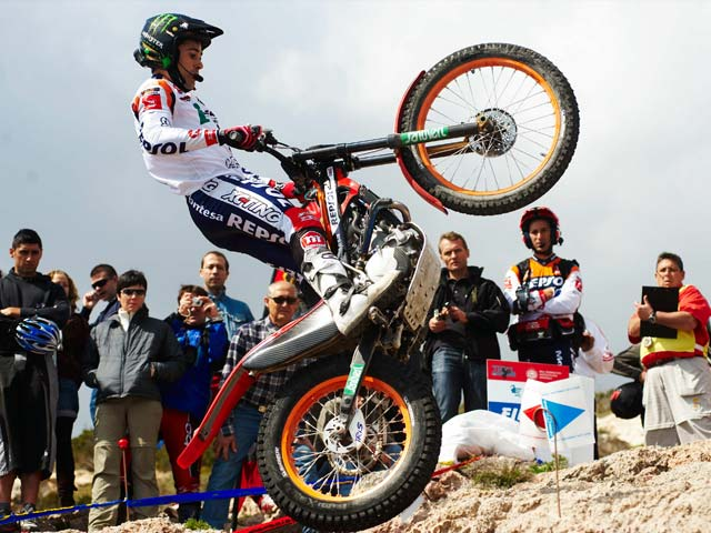 Toni Bou, más lider del Campeonato de España de Trial