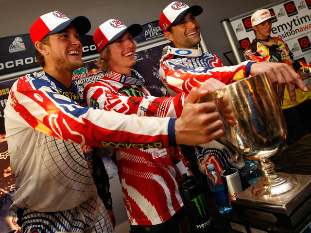 Dungey, Weimer y Tedesco, potencia nº1 en Motocross