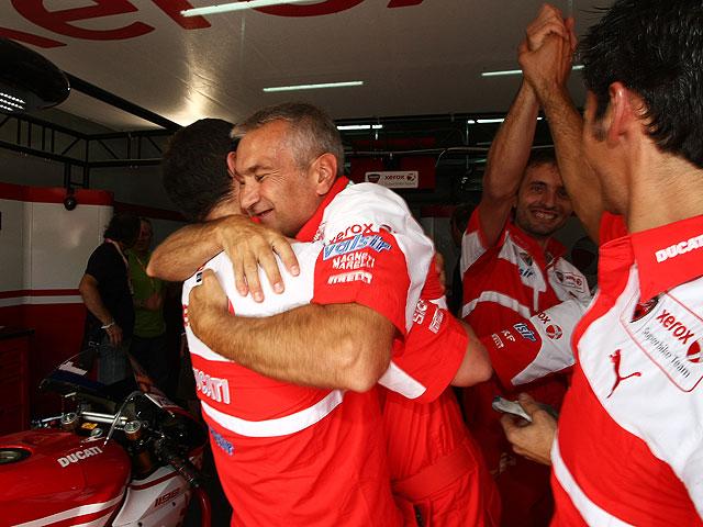 Ducati gana el Mundial de Constructores en Superbike