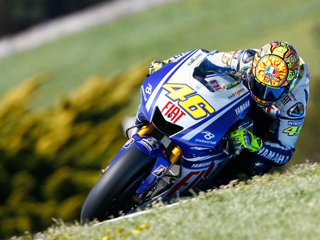 Valentino Rossi se lleva el mejor tiempo de los libres del GP de Australia