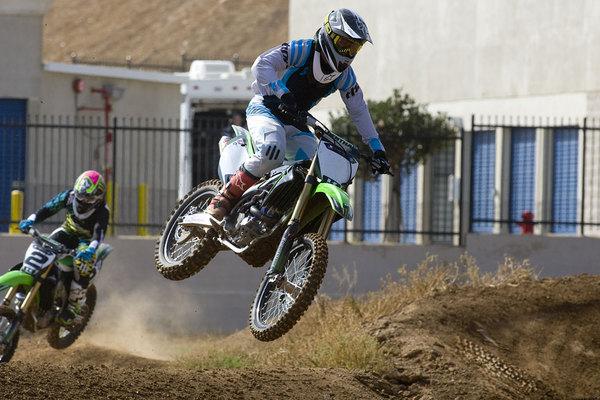 Chad Reed, a Kawasaki