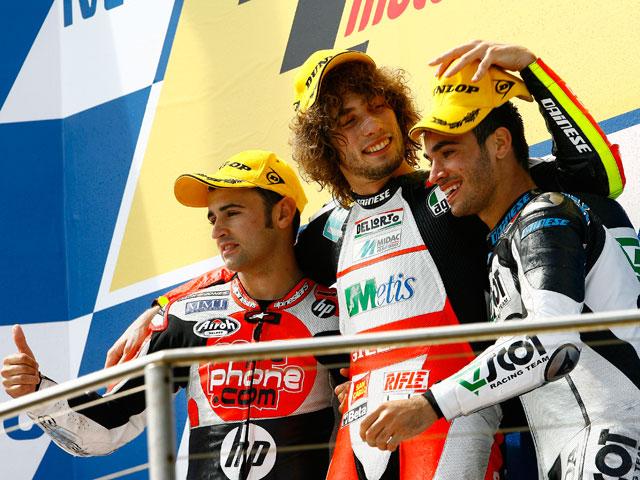 Simoncelli saca tajada en el GP de Australia