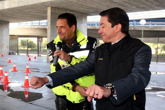 Nuevo Plan de Seguridad Vial de motos en Madrid