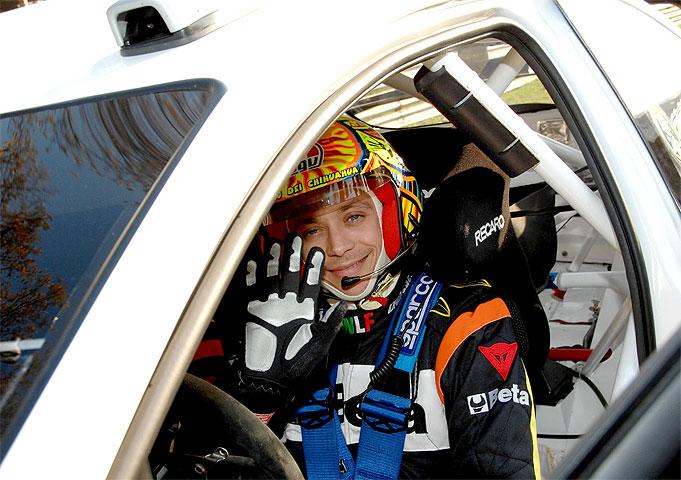 Rossi correrá el Rally de México de coches en 2010