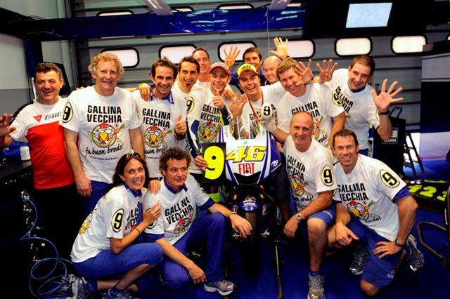 Valentino Rossi, campeón de MotoGP 2009: las fotos