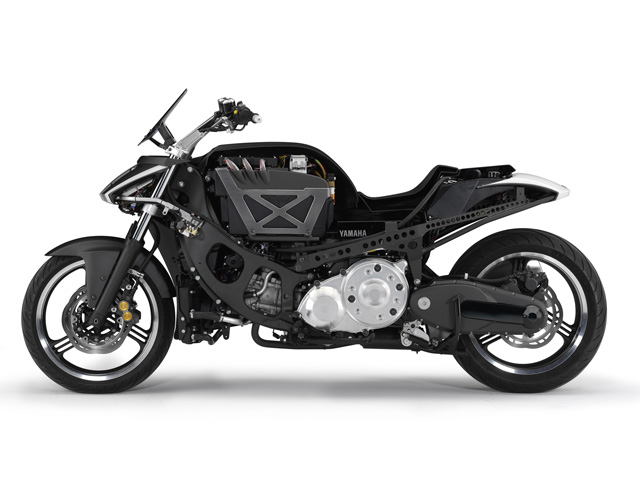 bc8fb8551c9 Yamaha presenta en Tokio su moto con motor híbrido