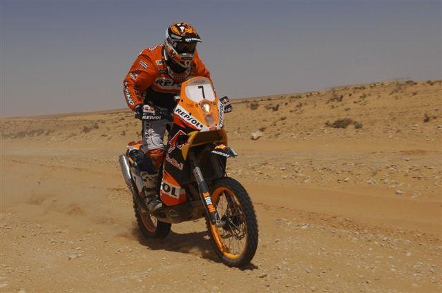 Cyril Després (KTM), nuevo líder del Rally de Marruecos