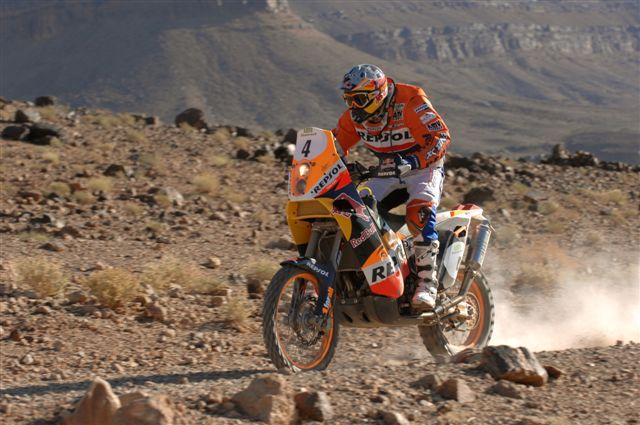 Cyril Després aumenta su ventaja en el Rally de Marruecos