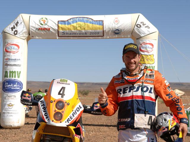 Marc Coma, triunfo inesperado en Marruecos