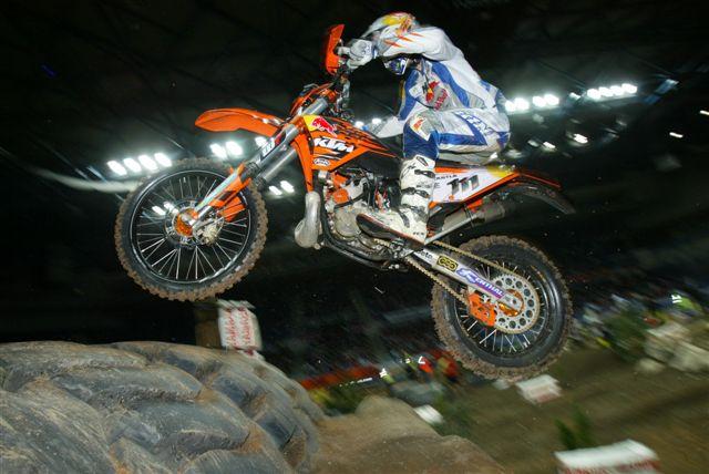 Tadeusz Blazusiak (KTM), dominador en Sheffield