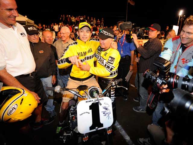 Valentino Rossi organiza un motocross benéfico