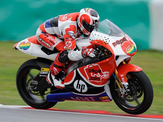 Barberá por delante de Debón y Bautista en los entrenamientos GP de Valencia