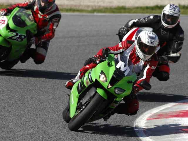 Rueda con Action Team en el Circuito de Cartagena