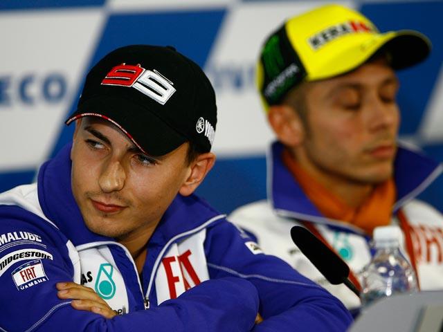 Valentino Rossi es triste, según el preparador físico y representante de Lorenzo