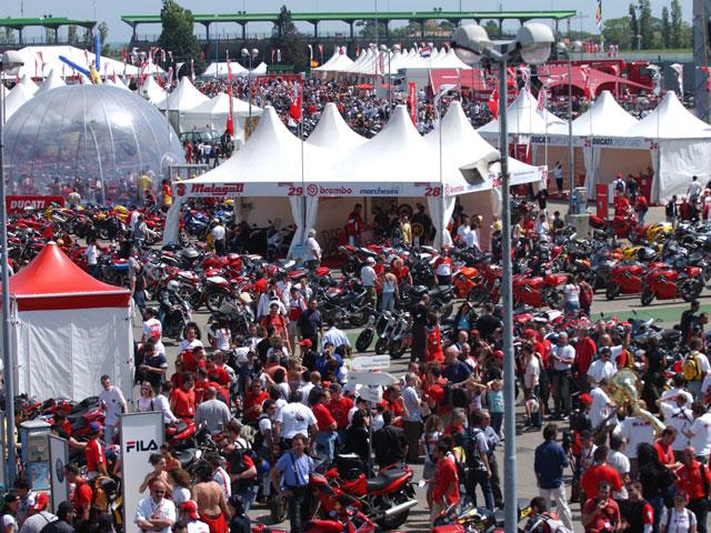 World Ducati Week 2010
