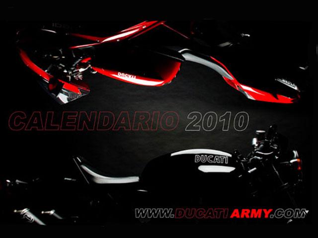 Calendario Ducati con fines benéficos