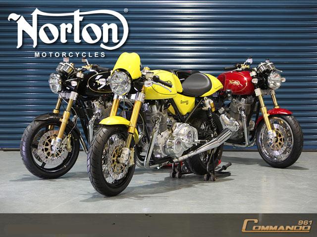 Norton Commando: el retorno del mito