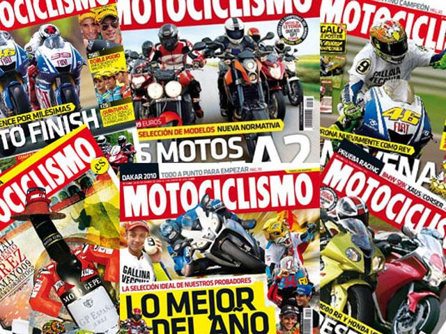 MOTOCICLISMO 2009: Las portadas del año