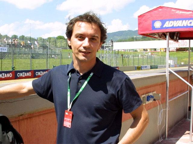 Luca Cadalora, probador del FB Corse de MotoGP
