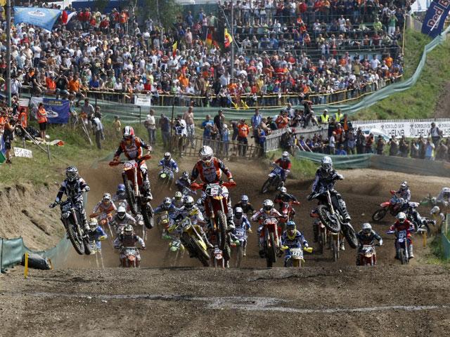 Las estrellas del motocross en Mantova