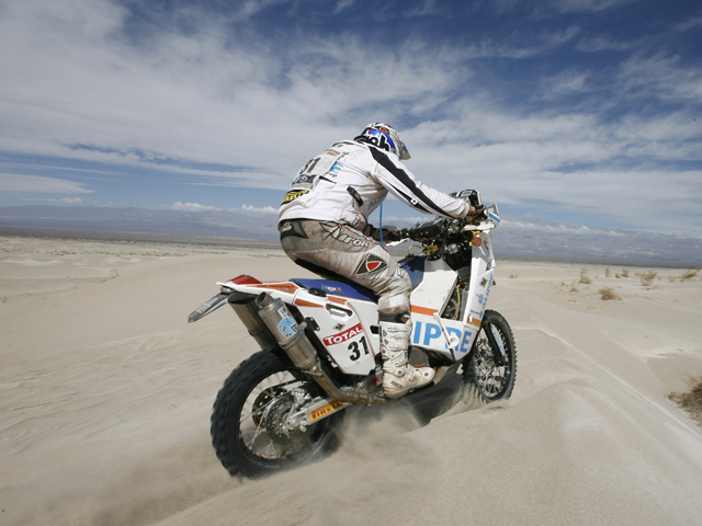 Nueva victoria de Despres, Coma ya es segundo en el Dakar 2010
