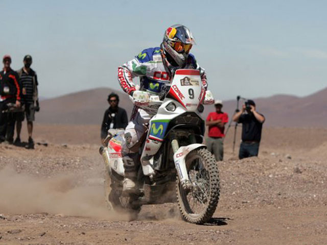 """Chaleco"" López se adjudica la octava etapa en el Dakar 2010"