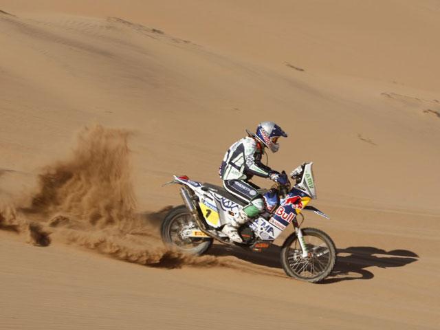 Victoria de Marc Coma en la novena etapa del Dakar