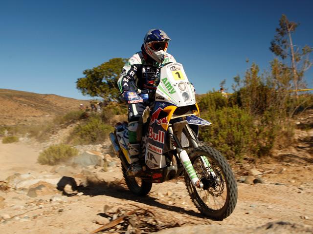 Victoria de Marc Coma en la décima etapa del Dakar 2010