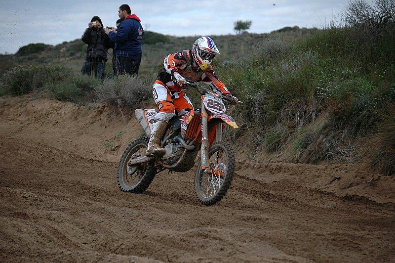 Antonio Cairoli rueda con la KTM. Primeras imágenes